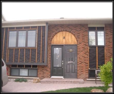 Nouvelle façade pour ce bungalow