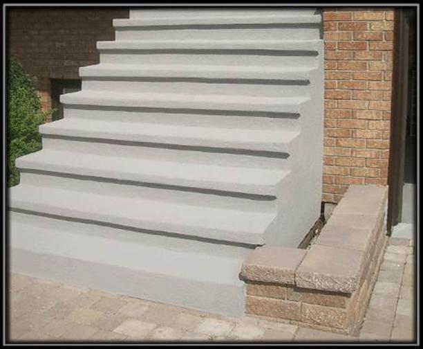 Resurfa age de l escalier pointe claire for Recouvrement de balcon exterieur